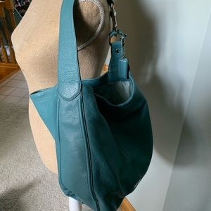 Coach Avery Leather Hobo Bag